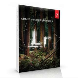 Adobe Photoshop Lightroom (Life time usage; no monthly fee)