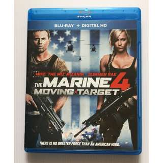 The Marine 4: Moving Target Blu Ray