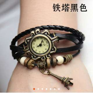 New Fashion Leather Watch Bracelets