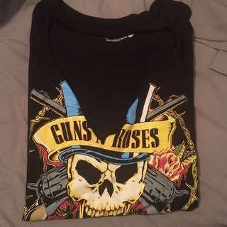 Cutout Guns n Roses Tee - XXL