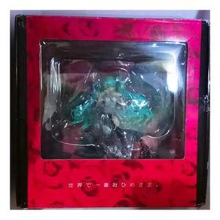 初音 世界第一的公主殿下 相框 公仔 盒28X27X14