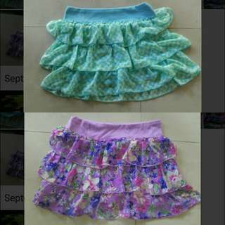 KNITWORKS Kids Skort (Skirts With Safety Shorts)