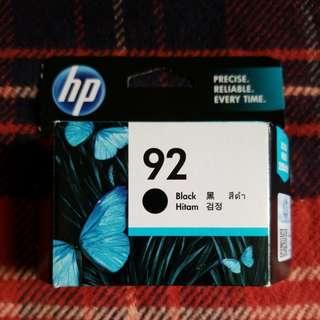 全新未開 HP 正貨墨盒 黑色 92