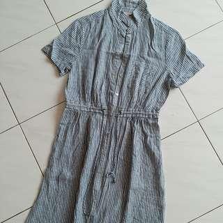 Esprit button down dress