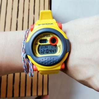 G-Shock G001 9DR Yellow limited edition