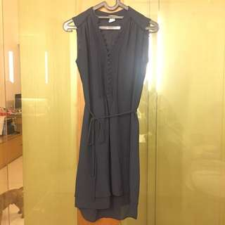 H&M Navy Blue Casual Dress Size 32