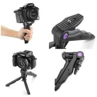 Portable 2 in 1 Folding Mini flexible tripod Camera Stand