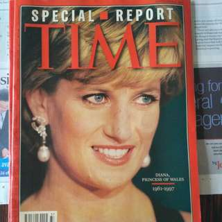 Time Mag - Princess Diana. 1997. Wales. princess