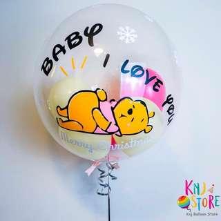 客製化生日氣球驚喜禮物盒