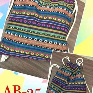 BATIK DRAW STRING BAG