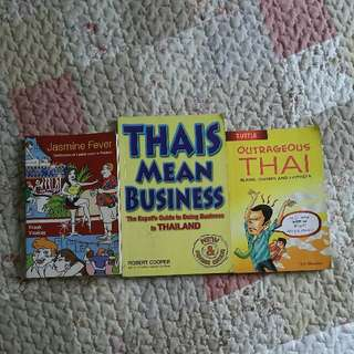 (3 for $17) Books about Thailand