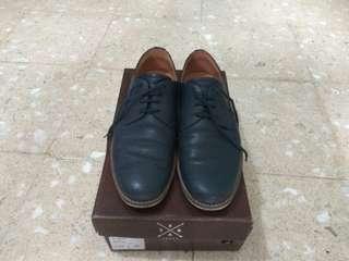 Seba shoes navy kulit