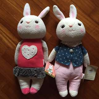 *BRAND NEW* super cute stuffed soft bunny dolls for cute little ones