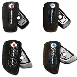 BMW M Performance Suave Leather Car Key Holder