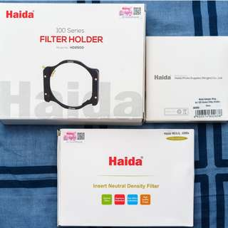 Haida 100mm ND1000 Filter Set, suitable for UWA lens with 72mm filter