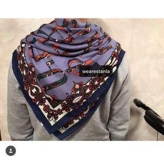 Hermes scarf 愛瑪仕巾