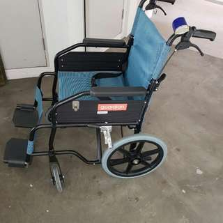Portable Light Weight Wheelchair. (Used Twice)