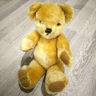 🚚 MERRY THOUGHT英國製正版泰迪熊玩偶收藏品(Made in England