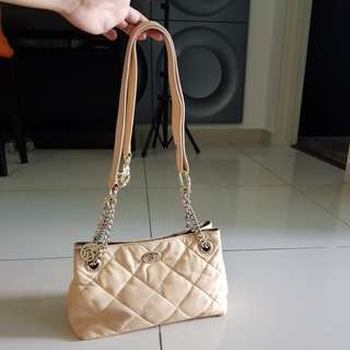 DKNY bag (beige color)
