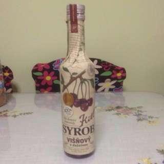 捷克Cherry Syrup 500 ml (Exp :2019)