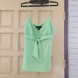 Light Green Sexy Spaghetti Top