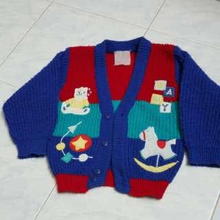 Colourful Sweater 2-3yo