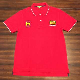 Bossini Sportshirt with Spain and No. 6 patches