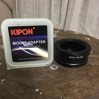 KIPON Minolta MD to Sony Nex Adapter