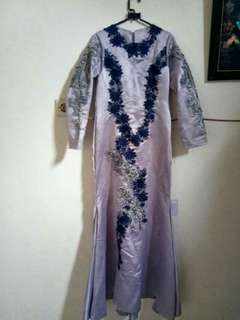 Long dress kebaya muslim