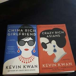 Crazy rich book collection