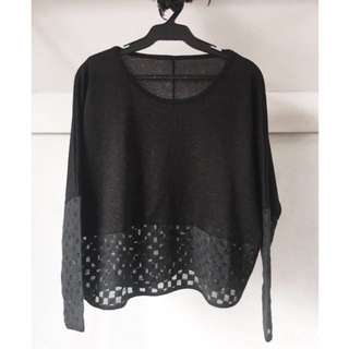❤️ SALE ❤️ Black Dolman Sweater