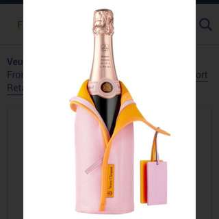Veuve Clicquot Rose Champagne 750ml with cooler cover