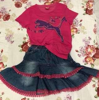 Puma + Skirt