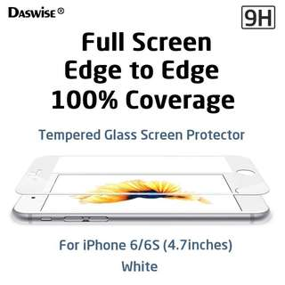iPhone 6S tempered glass screen protector - $10