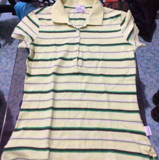 Herbench polo blouse