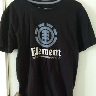 DC shoes and Element tees