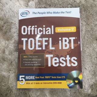 ETS OFFICIAL TOEFL IBT TEST
