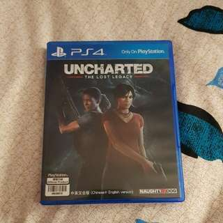 Unchartered -The Lost Legacy (Code Unredeemed) PS4 Games