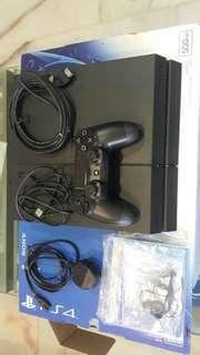 PS4 Black 500GB