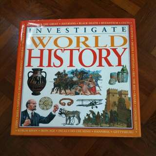 Investigate World History (in full colour)