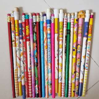 Old school pencils with different design!