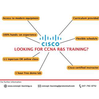 CCNA hands-on training