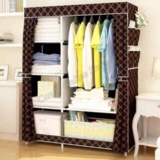 Wardrobe and Clothes Organizer (Best for Transcients)
