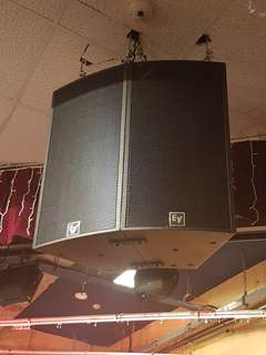 Electrovoice EV Speakers Sub, Amp and DSP
