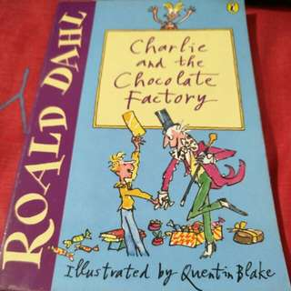Roald Dahl Charlie & The Chocolate Factory