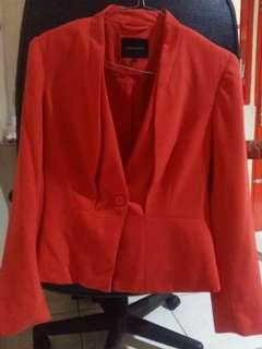 Blazer Cardinal Femme Orange