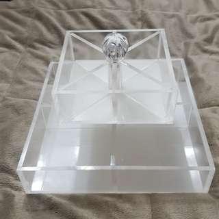 Clear Acrylic Organizer