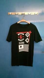Black Tshirt with graphic print