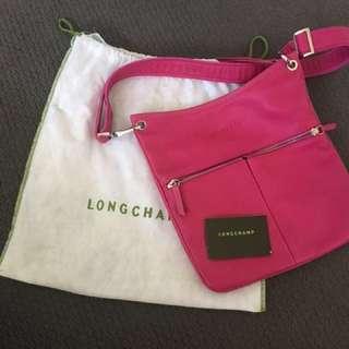 As new Longchamp full leather bag