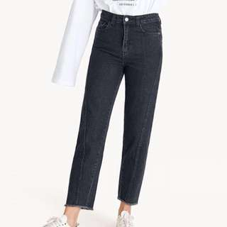 BNWT Pomelo Black Mom Jeans